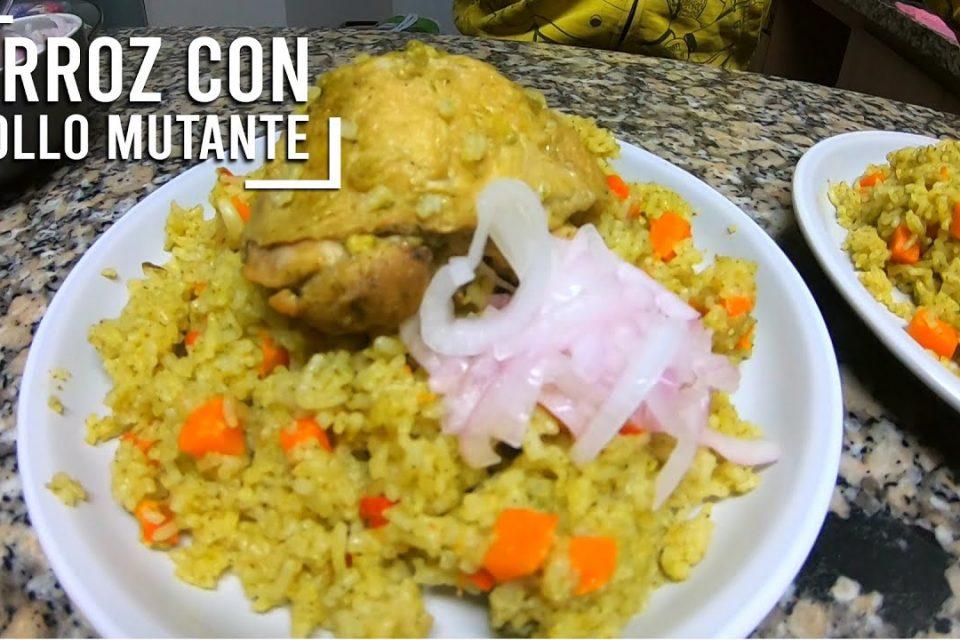 Arroz con pollo mutante l #ElBajadon l El Juan