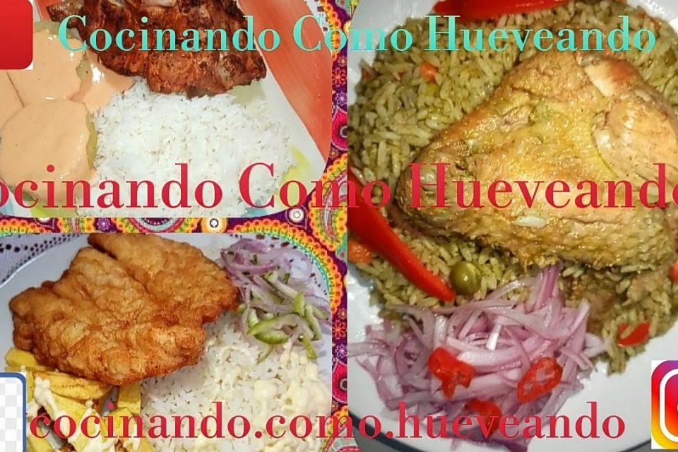 Arroz con pollo norteño Peruano  | Sazón Peruana