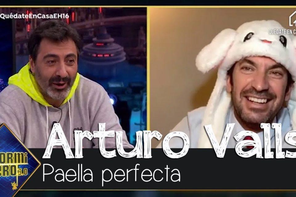 Arturo Valls enseña sus trucos y secretos para hacer una paella a la perfección - El Hormiguero 3.0