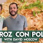 Cocinar Arroz Con Pollo con un hombre que lo ha visto todo