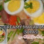 Cómo cocinar SOPA DE MACARRON CREMOSA o SOPAS |  RECETA SOPAS RÁPIDA Y FÁCIL
