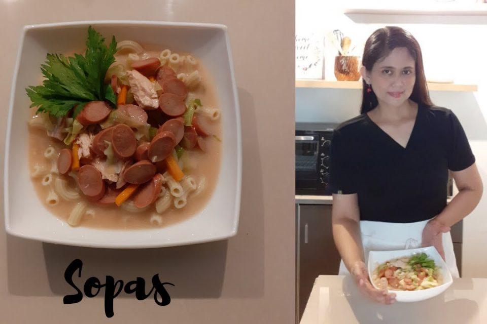 Cómo cocinar Sopas / Sopas de pollo / Easy Yummy y Al dente Elbow Macaroni