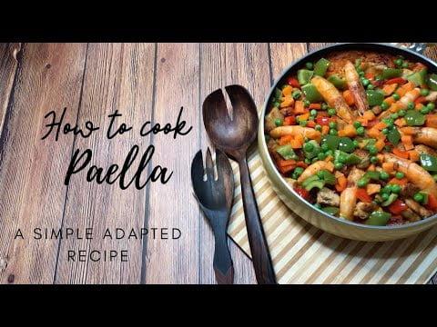Cómo cocinar paella: una receta adaptada simple
