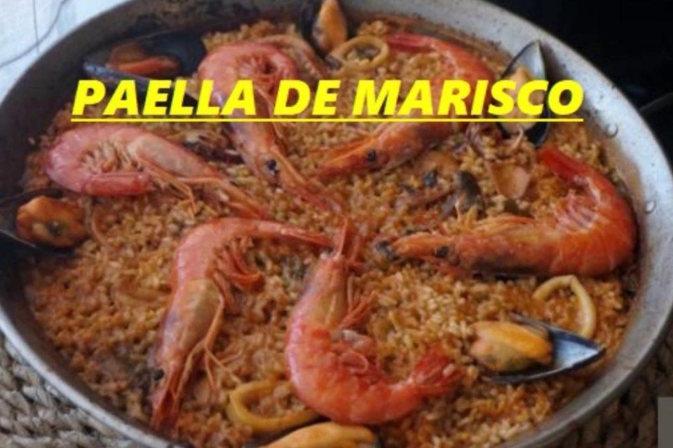DELICIOSA PAELLA DE MARISCOS