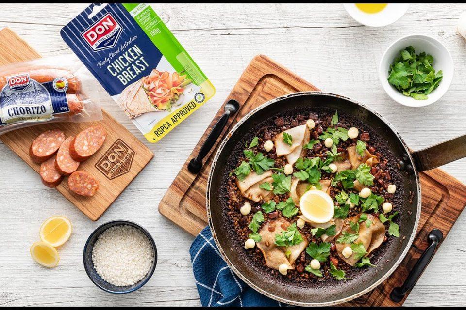 DON Plato del día |  Paella de pollo y chorizo DON de Maria Kabal