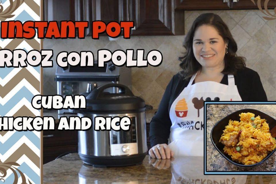 El MEJOR Instant Pot Pot Chicken and Rice |  Auténtico Arroz con Pollo Cubano |  Fácil, rápido y barato