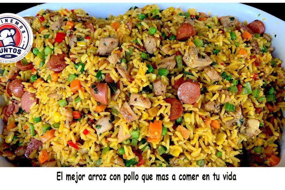 El mejor arroz con pollo que vas a comer en tu vida.