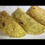 Empanadillas De Arroz Y Pollo, Queso Desde Ghana