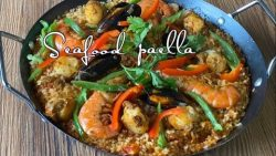 PAELLA DE MARISCOS [ EASIEST WAY TO COOK PAELLA ]