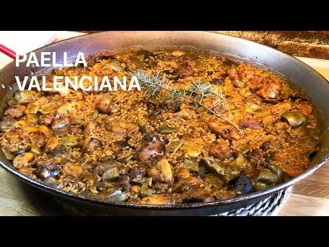 PAELLA VALENCIANA  Receta Casa Arturos Paellas y Arroces