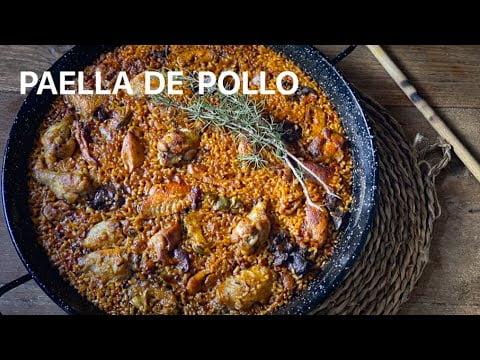 PAELLA de POLLO con Alcachofas Casa Arturos Paella y Arroz