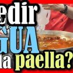 Paella Valenciana Cómo medir el agua de la paella Para Locos por la paella