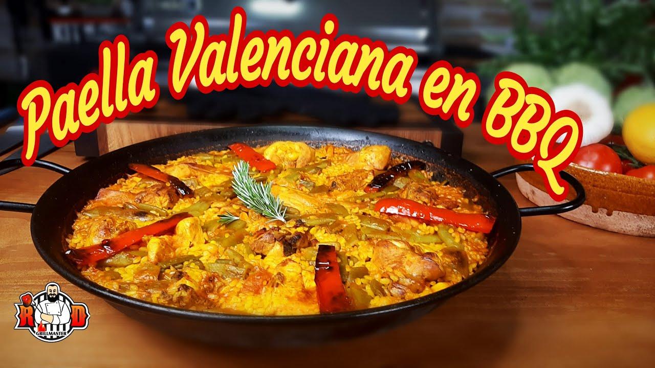 Paella Valenciana en BBQ | RDGrillmaster