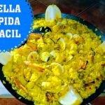 Paella con preparado MERCADONA 🥘 rápida y facil