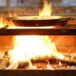 Paella valenciana del restaurante Lisa Negra de Quique Dacosta