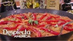 Receta de arroz estilo paella para la cena de fin de año