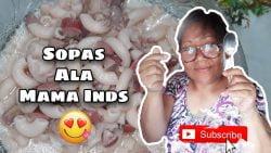 Sopa Cremosa Estilo Mama Inds |  Mamá Inds ❤