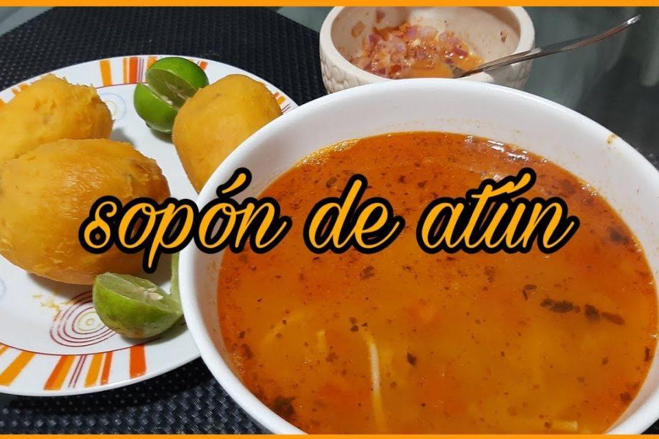 Sopa - SOPÓN DE ATÚN #sopas #cocina