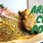 ARROZ CON POLLO/RECETA PERUANA - COCINA ALTOQUE