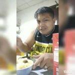 ASMR Mukbang adobo de pollo, caldereta de pollo y sopa
