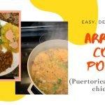 Arroz con Pollo - Arroz Puertorriqueño con Pollo (receta fácil)