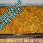 Arroz con pollo para diabéticos✨ sin carbohidratos, sin arroz ✨ con el mejor sabor
