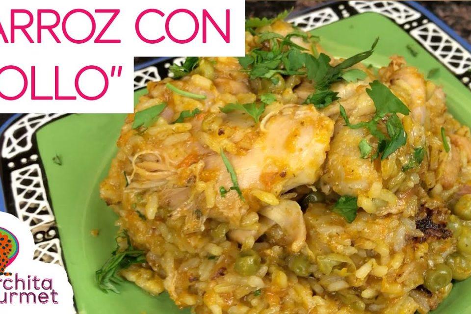 Arroz con pollo venezolano bien cremosito :)