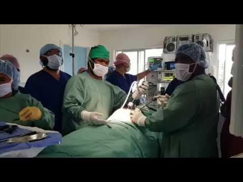 Cirugía laparoscópica en el Hospital Distrital de Sopas