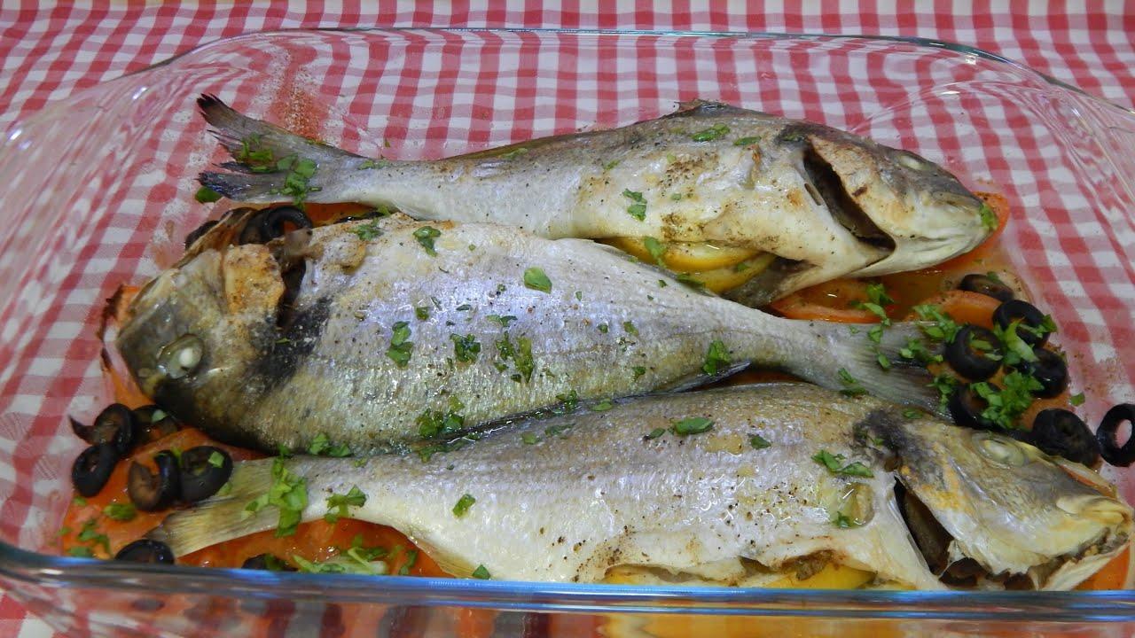 Cómo hacer pescado a la mediterranea muy jugoso y con mucho sabor