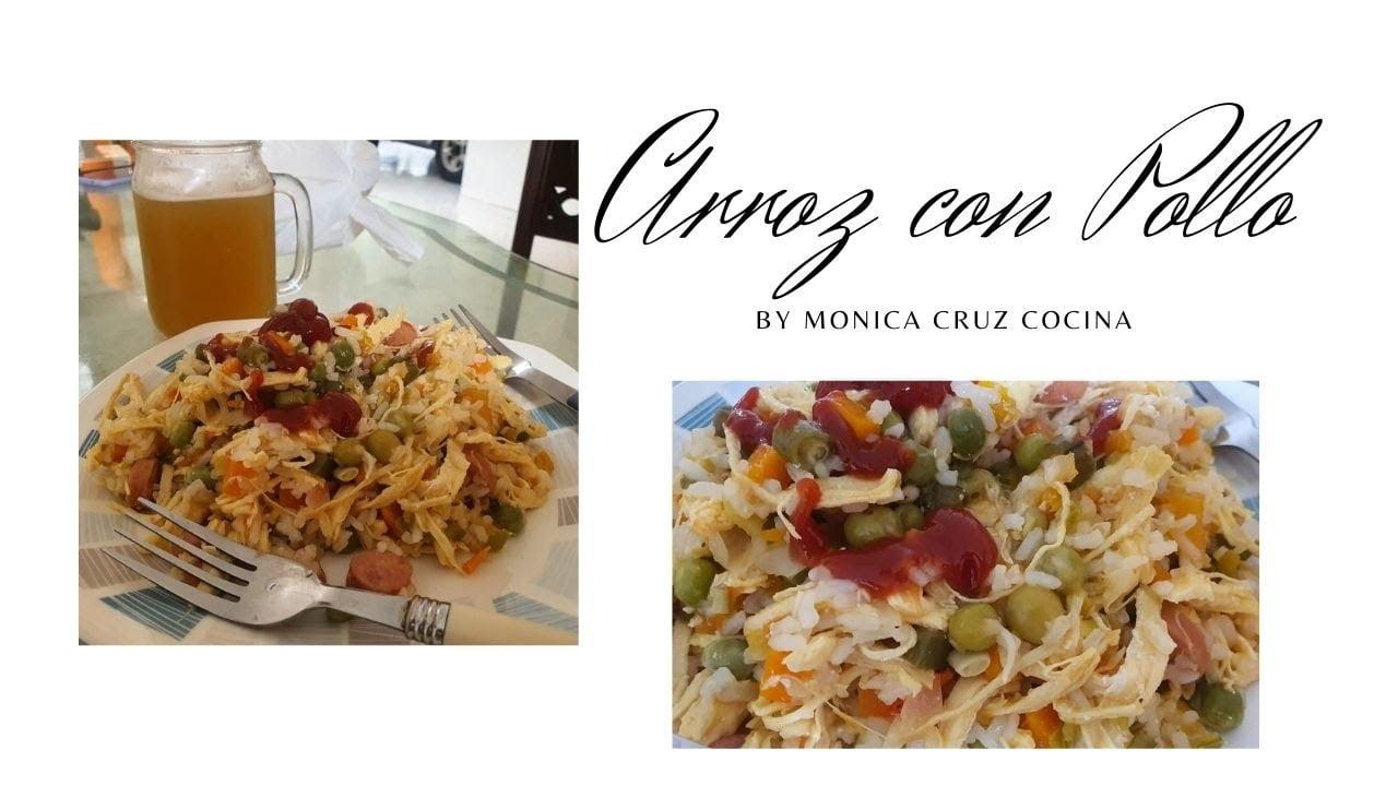 Como hacer un delicioso ARROZ CON POLLO - Receta fácil y deliciosa #cocinaencasa
