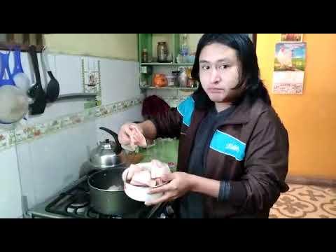 Como preparar Arroz con pollo Krizalid