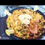 Como preparar una buena Paella de Marisco = Cómo preparar la mejor Bahía en Marisco España