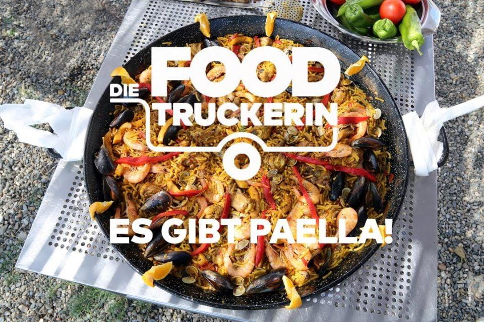 El camionero de comida - ¡hay paella!