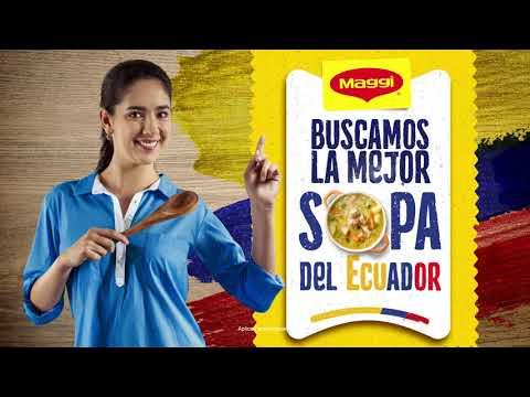 En Sopas MAGGI® buscamos la mejor sopa del Ecuador