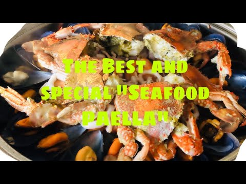 """My the Best Version OF """"SEAFOOD PAELLA"""""""
