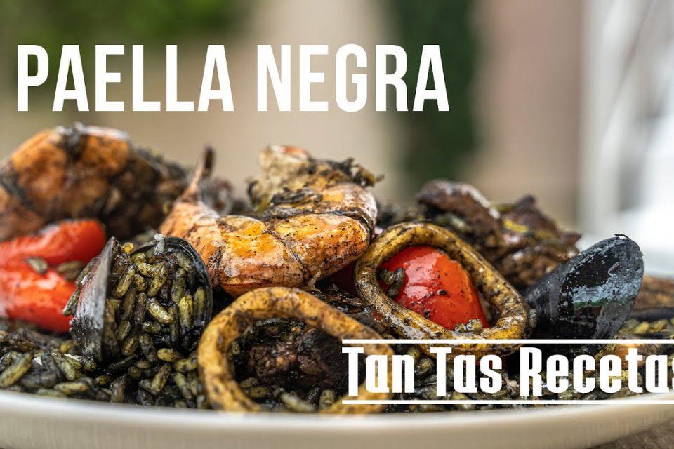 Paella Negra - Tan Tas Recetas
