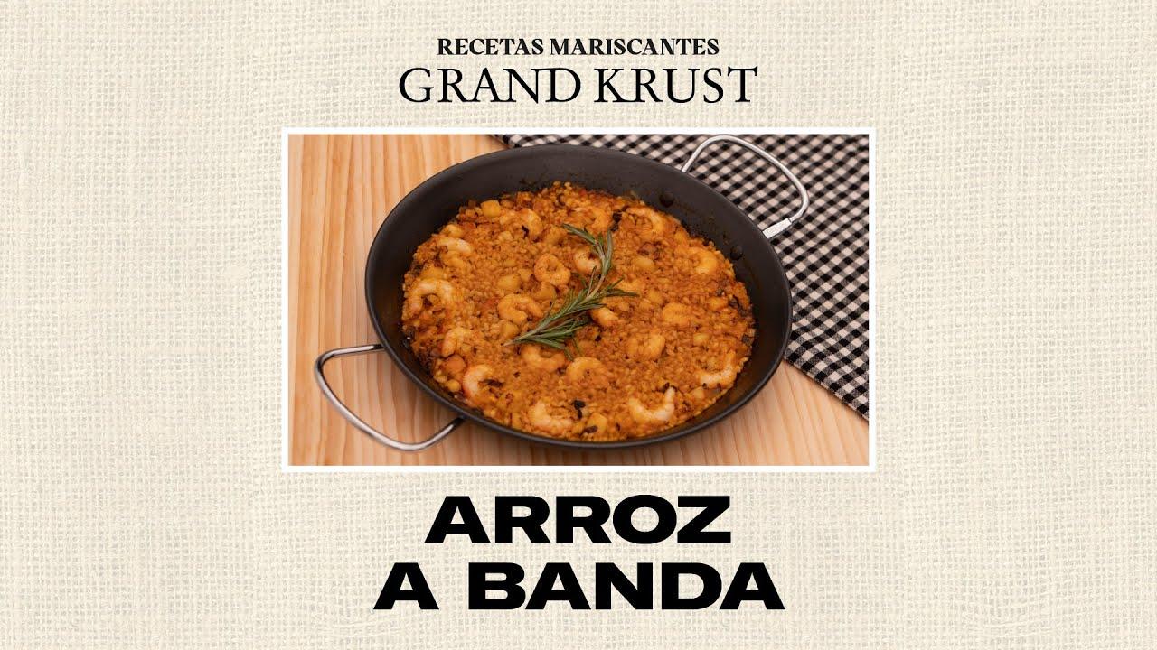 Rice la banda #Recetasdearroz #GrandKrust
