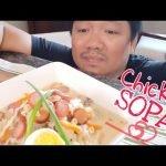 Sopas de pollo con macarrones l Sopa de macarrones l Panlasang Pinoy l Panlasang Amoy
