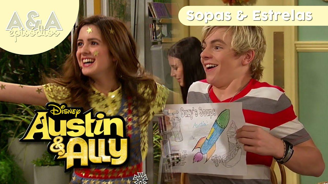 Temporada 1 - Episodio 12 - Sopas y estrellas (Parte 3) |  Austin y Ally