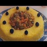 arroz con pollo y verduras súper delicioso