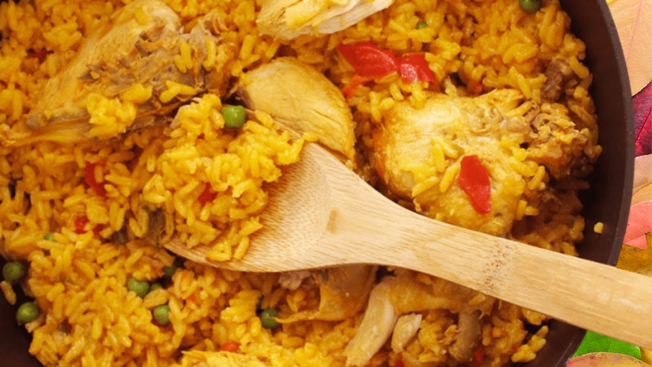 ARROZ CON POLLO VENEZOLANO con pocos ingredientes