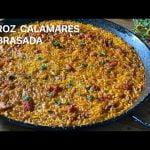 ARROZ DE CALAMARES toque SOBRASADA Casa Arturos Paellas y Arroces