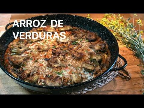 ARROZ DE VERDURAS Casa Arturos Paellas y Arroces