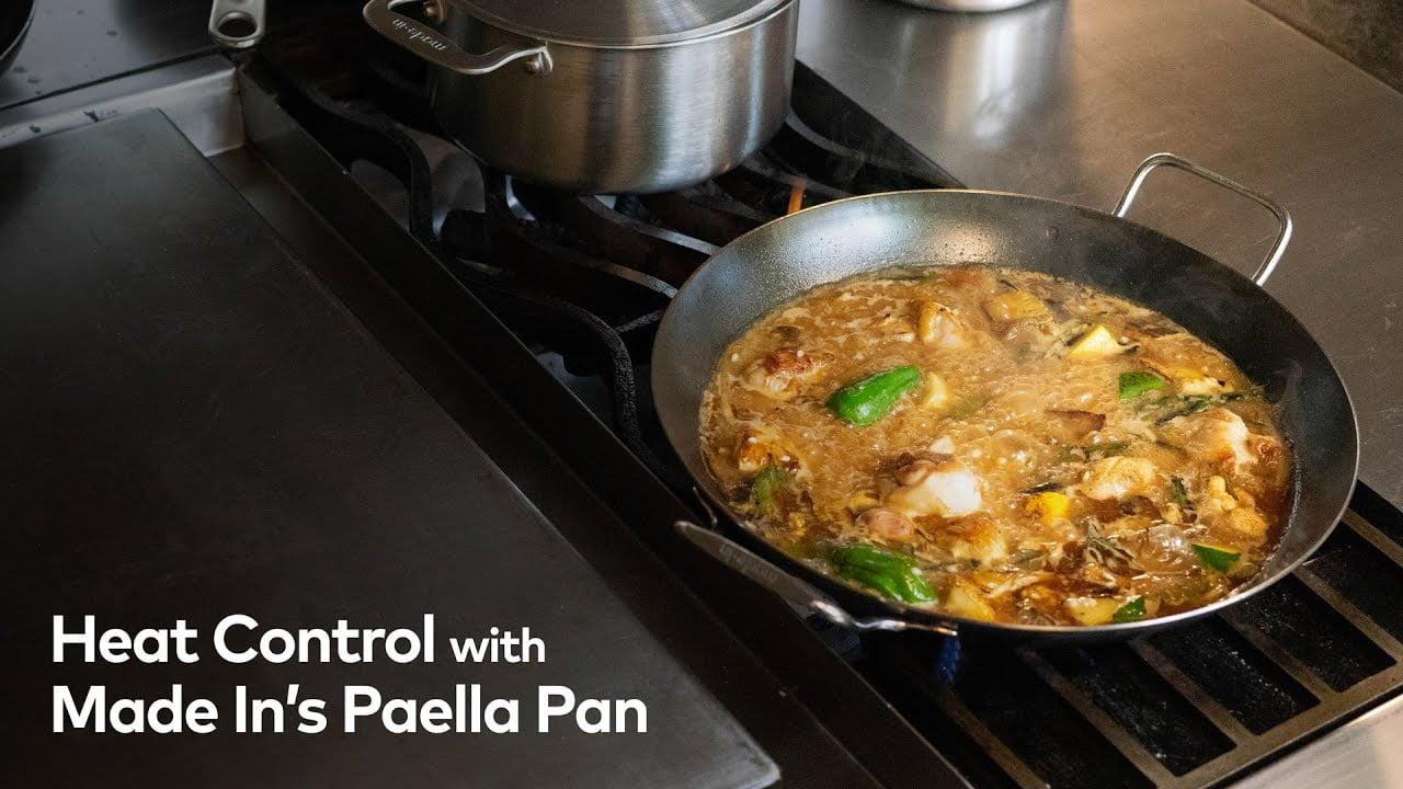 Aprenda la técnica perfecta para controlar el calor de la paella