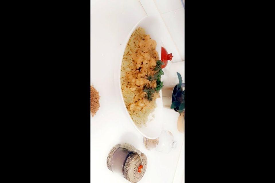 Arroz Basmati con pollo india