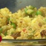 Arroz con pollo y vegetales y Arepitas de maíz (4/4)  – Clases De Cocina Con Jacqueline