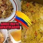 CÓMO HACER ARROZ APASTELADO MIXTO DE CERDO Y POLLO COSTEÑO COLOMBIANO / Cocina Con Nelu