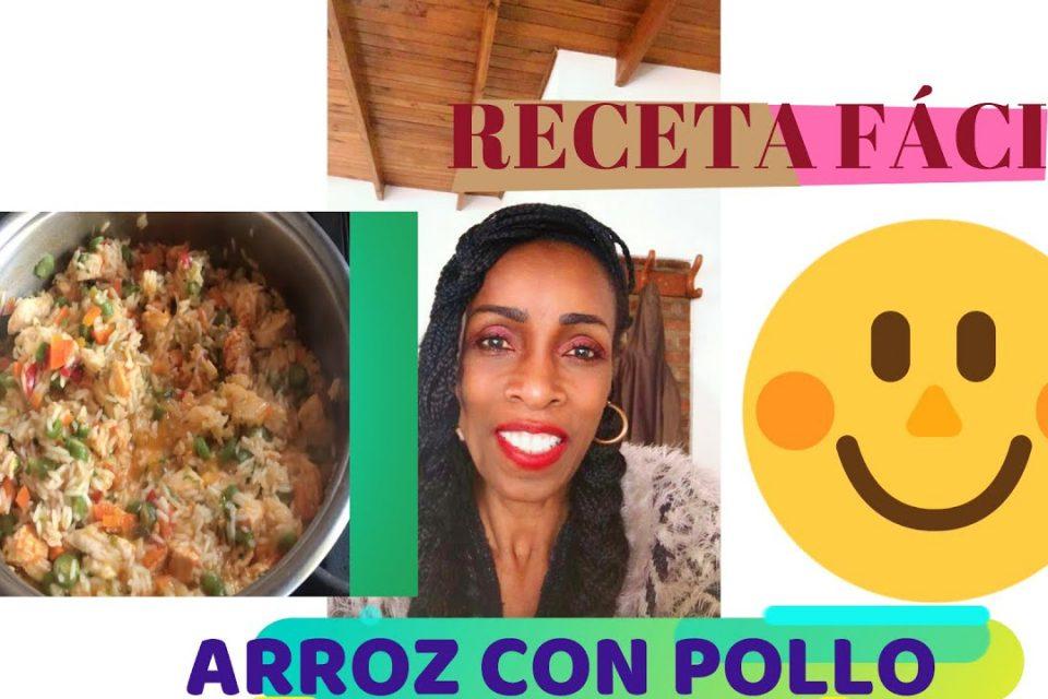 CÓMO HACER ARROZ CON  POLLO/ Chicken With Rice