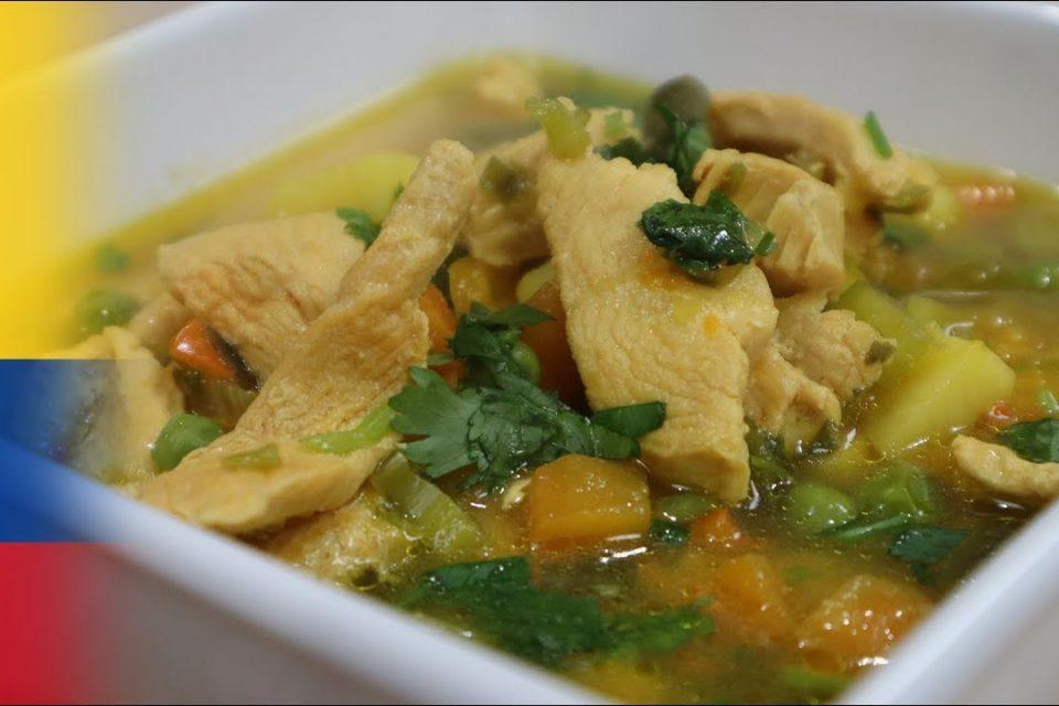Como hacer sopa de verduras con pollo