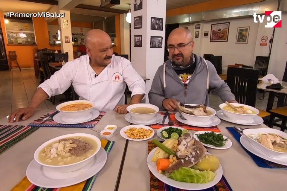 Con Sabor a Perú:  Caldos y sopas: poderoso sabor (23/08/2020) | TVPerú